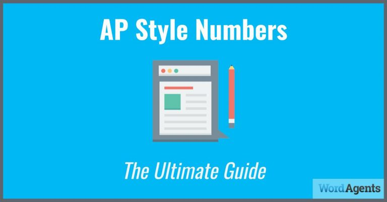 ap style numbers