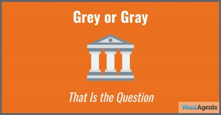 grey-or-gray