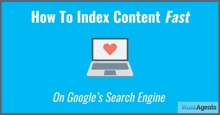 how to index content fast in google