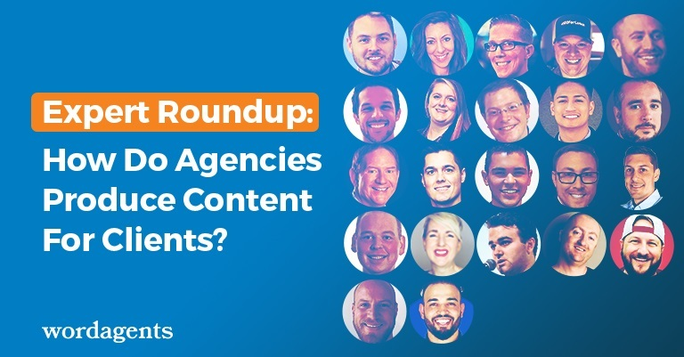 how do agencies produce content for clients