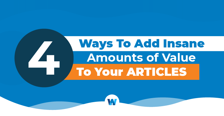 ways to add value to content
