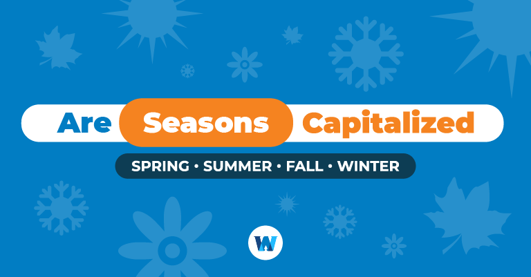 are seasons capitalized