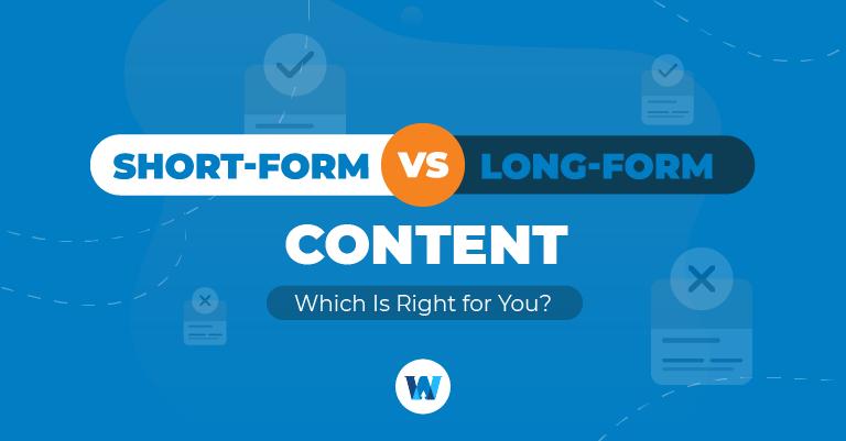 short form vs long form