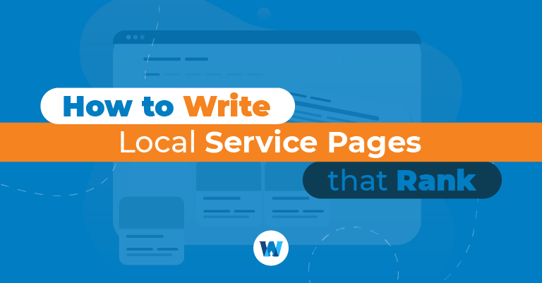 how to write local service pages that rank